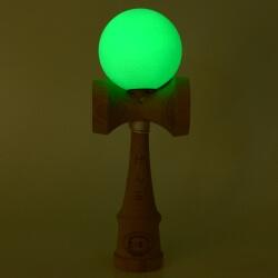 Kendama Canada – Kendama KCS – balle verte - fluorescente dans le noir