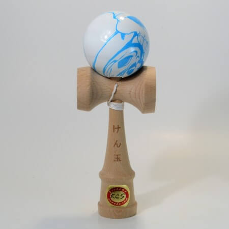 Kendama KCS dition Spciale - balle &quot;Blue Skull&quot; - Crne Bleu