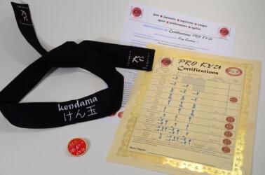 Kendama Canada - Certifications Pro KYU - Bandeau Noir