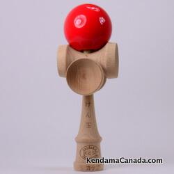 Kendama Canada – Kendama KCS 5 coupes – balle rouge