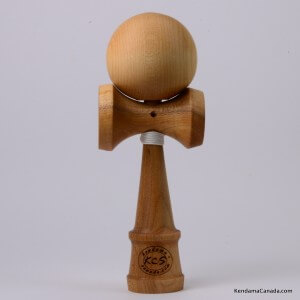 Kendama Canada  Kendama KCS du Qubec  Collection Prestige  modle Unique au monde en Cerisier  balle rable naturel