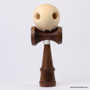 Kendama Canada  Kendama KCS du Qubec  Collection Prestige  modle Unique au monde en Noyer  balle rable 5 trous