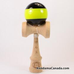 Kendama Canada – Kendama KCSnoir stipe jaune / black yellow stripe