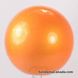Balle Orange peinture Métallique / Orange Metalic paint Ball ...