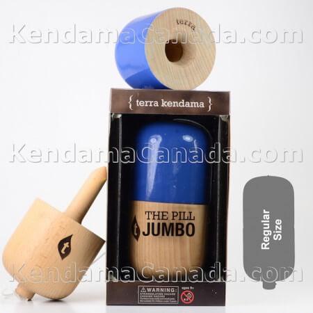 Jumbo Pill Bleu