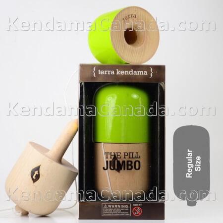 Jumbo Pill Green
