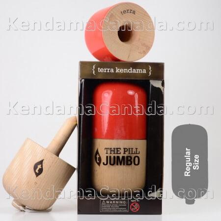 Jumbo Pill Red