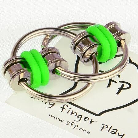 Chain fidget DS Green