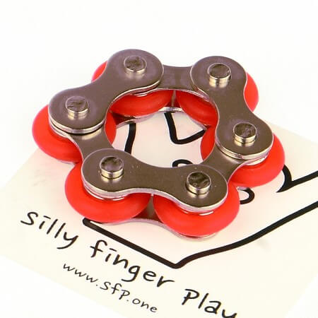 Chain fidget RS Red