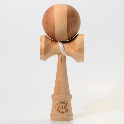 Kendama Canada – Kendama KCS du Québec – Collection Prestige - modèle Unique au monde en Cerisier - balle Acajou et Cerisier