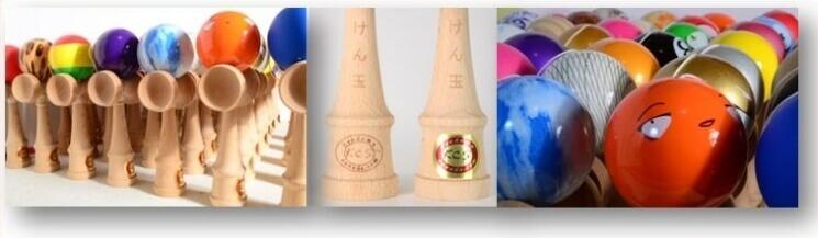 Kendama Canada – Kendama KCS – formats standards de compétition - grande variété de couleurs