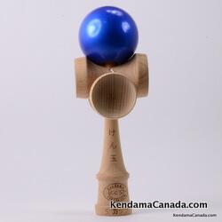 Kendama Canada – Kendama KCS 5 coupes – balle bleue métallisée