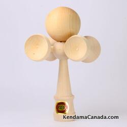 Kendama Canada – Kendama KCS 5 coupes: modèle très rare, en érable – fabriqué au Québec – Sherbrooke – Canada
