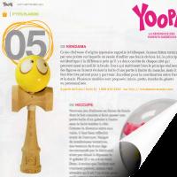 Kendama Canada reconnu dans magazine Yoopa