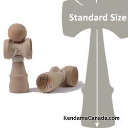 Kendama Canada – Kendama format Micro – balle naturelle érable