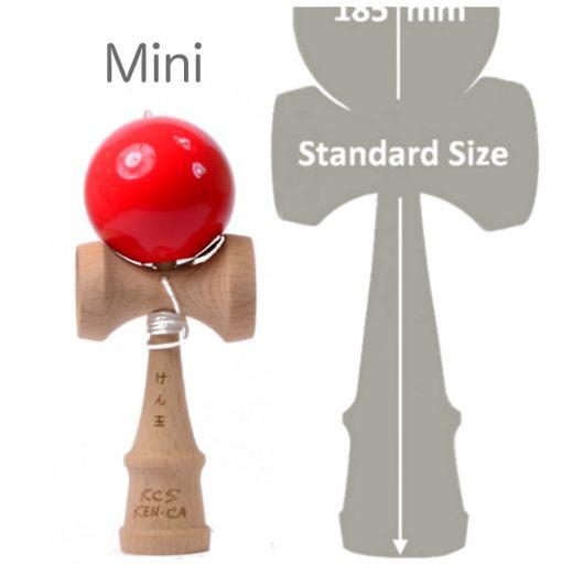 Kendama Canada – Kendama format Mini - balle rouge