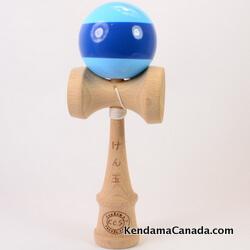 Kendama Canada – Kendama KCS –bleu stripe bleu / blue blue stripe