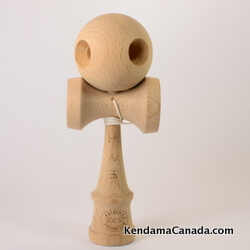 Kendama Canada - Kihon - Kendama KCS en bois de hêtre naturel