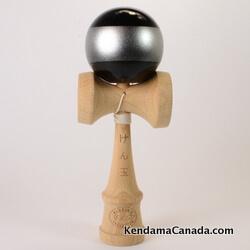 Kendama Canada – Kendama KCS black silver stripe / noir bande argent