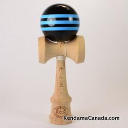 Kendama Canada – Kendama KCS – black noir - triple blue bleu
