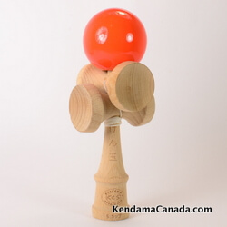 Kendama Canada – Kendama KCS 5 coupes – orange