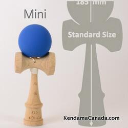 Kendama Canada – mini bleu rubber blue