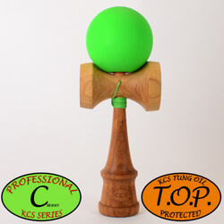 Kendama Canada Pro-C – KCS – TOP - Cherry - Cerisier