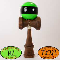 Kendama Canada – Kendama KCS Pro-W - Walnut - Noyer - TOP