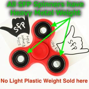 SFP fspinner weight