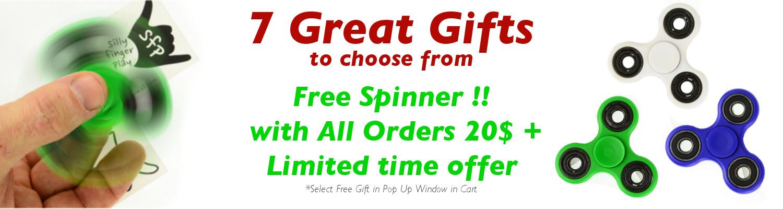 Free Spinner Offer